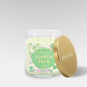 4x Opalhouse Costal Palm mango current jar candles